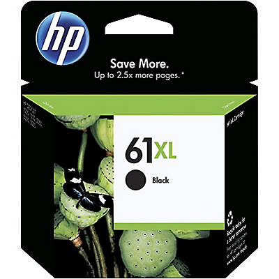 HP 61XL Black OEM Ink Cartridge