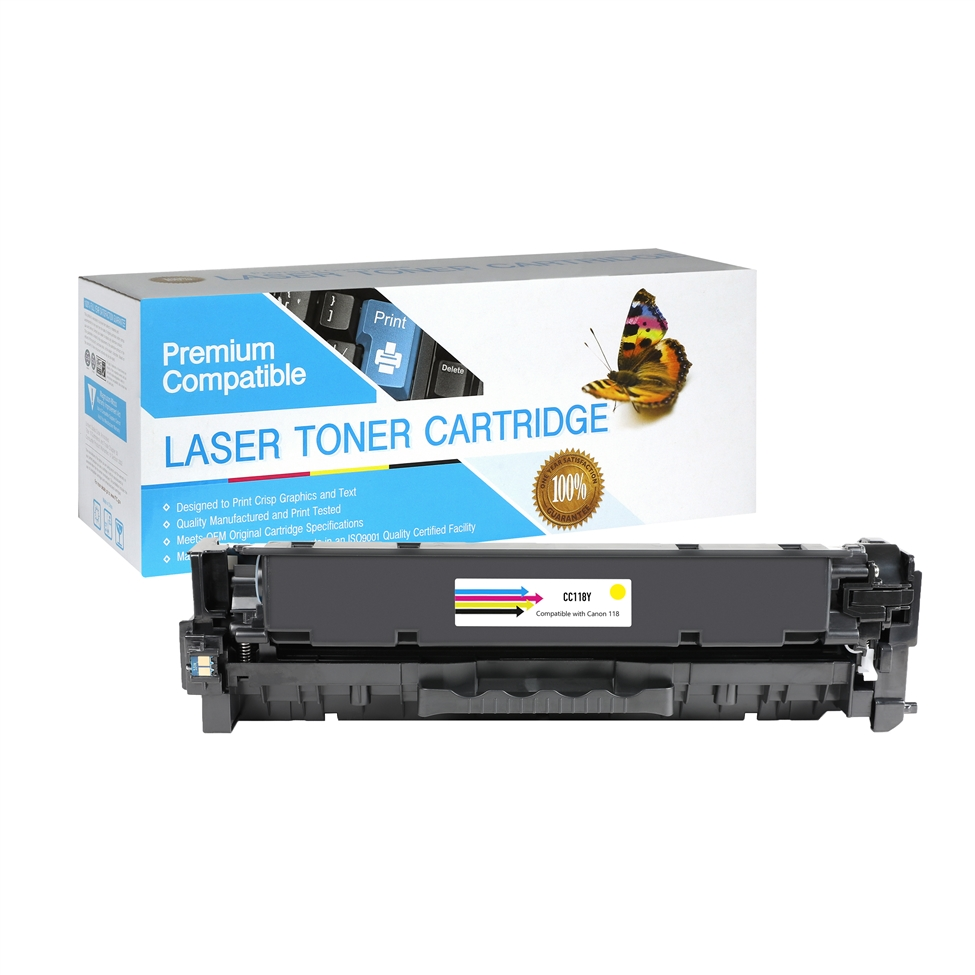 Canon 2659B001AA (Type 118) Yellow Compatible Toner Cartridge