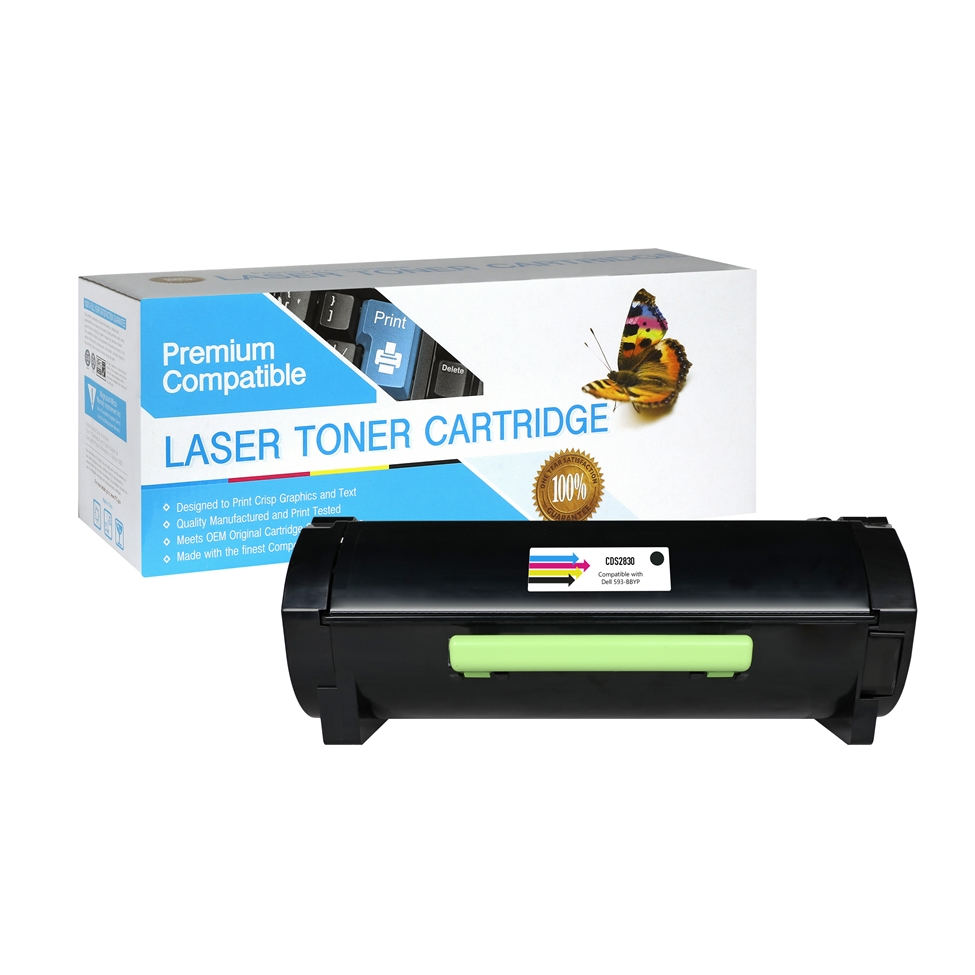 Dell 593-BBYP Compatible Black Toner Cartridge