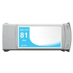 HP Compatible C4934A (#81) Light Cyan Ink Cartridge