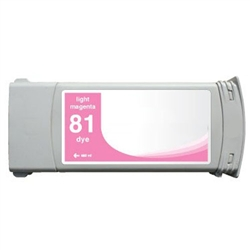 HP Compatible Ink Cart C4935A (#81) Light Magenta