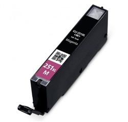 Canon 6450B001 (CLI-251XL) Compatible High Yield Magenta Ink Cartridge