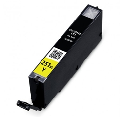 Canon 6451B001 (CLI-251XL) Compatible High Yield Yellow Ink Cartridge