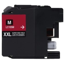 Brother LC105M Compatible Magenta Ink Cartridge