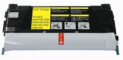 Lexmark C5242YH Compatible Yellow Laser Toner Cartridge