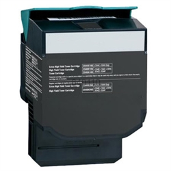 Lexmark C544K Compatible Hi Yield Black Laser Toner Cartridge