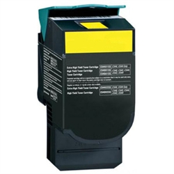 Lexmark C544Y Compatible Hi Yield Yellow Laser Toner Cartridge