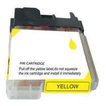 Brother Compatible Ink Cart LC61Y Yellow