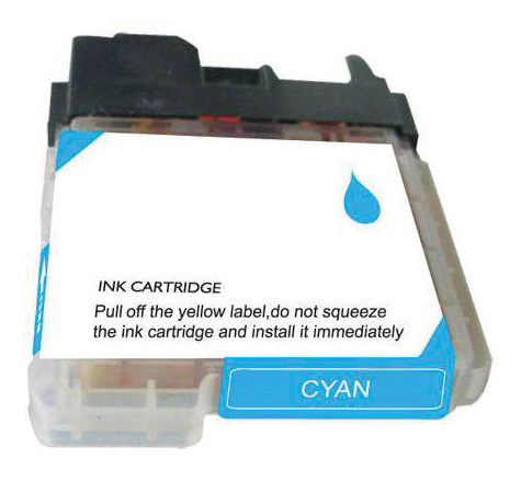 Brother Compatible Ink Cart LC65C Cyan