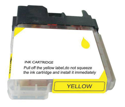 Brother Compatible Ink Cart LC65Y Yellow