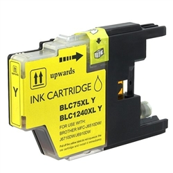 Brother Compatible Ink Cart LC75Y Yellow
