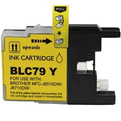 Brother Compatible Ink Cart LC79Y Yellow