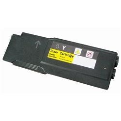 Xerox 106R02227 Hi Yield Compatible Yellow Toner Cartridge