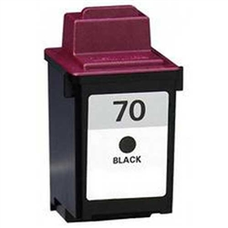 Lexmark 12A1970 (No. 70) Remanufactured Black Ink Cartridge
