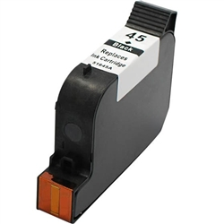 HP Remanufactured 51645A/D (No. 45) Black Ink Cartridge