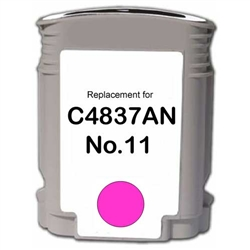HP Remanufactured C4837AN (No. 11) Magenta Ink Cartridge