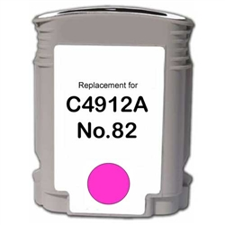 HP Compatible C4912AN (#82)Magenta Ink Cartridge