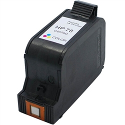 HP Remanufactured C6578A(No. 78) Tri-Color Ink Cartridge