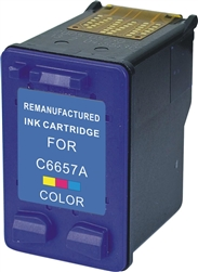 HP Remanufactured C6657 (No. 57) Color Ink Cartridge