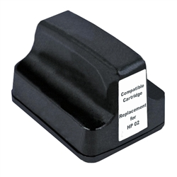 HP Remanufactured C8721WN (HP 02) Black Ink Cartridge