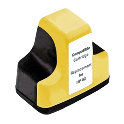 HP Remanufactured C8773WN (HP 02) Yellow Ink Cartridge
