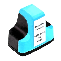 HP Remanufactured C8774WN (HP 02) Light Cyan Ink Cartridge