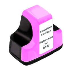 HP Remanufactured C8775WN (HP 02) Light Magenta Ink Cartridge