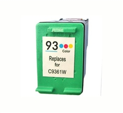 HP Remanufactured C9361W (No. 93) Color Ink Cartridge