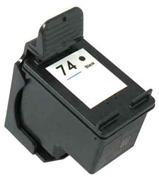 HP Remanufactured CB335WN (No. 74) Black Ink Cartridge