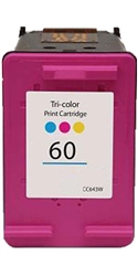 HP Remanufactured CC643WN (No. 60 Color) Color Ink Cartridge