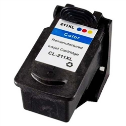 Canon CL-211XL Reman Color Ink Cartridge