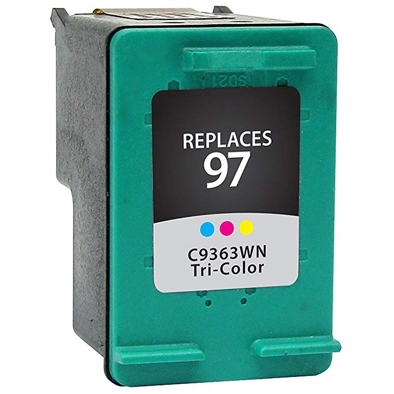 HP C9363W (HP 97) Remanufactured High Capacity Color Ink Cartridge