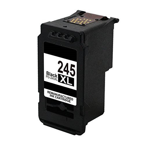 Canon PG-245XL Reman High Yield Pigment Black Ink Cartridge