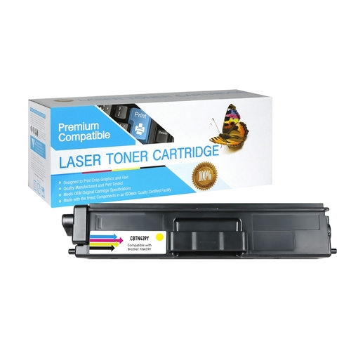 Brother TN-439Y Compatible Yellow Toner
