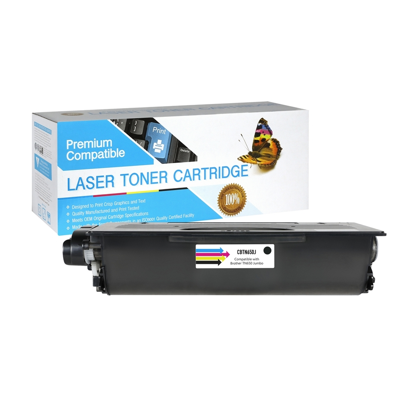 Brother TN650 Jumbo Compatible Black Toner Cartridge