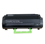 Lexmark 50F1H00 Compliant Toner (OEM Chip) (5000 Pages) for MS310/312/315, MS410, 415, MS510, MS610, Mx310/410/510, 511, MX610/611