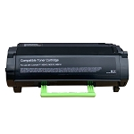 Lexmark 50F1X00 Compliant Toner (OEMChip) (10,000 Pages) for MS410/415, MS610, MX310, MX410, MX510/511, MS610, 611 Series Printers