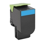 Lexmark 80C1HC0, 801HC High Yield Compatible Toner- Cyan