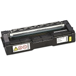 Ricoh 407542 Compatible Yellow Toner Cartridge