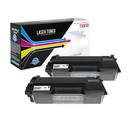 TN-850 Compatible Toner - Two Pack