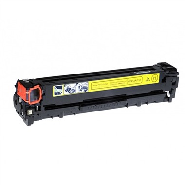 Canon 131 Compatible Yellow Toner Cartridge