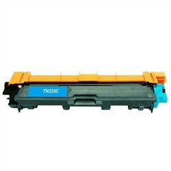 Brother TN221C / TN225C Compatible Cyan Toner Cartridge
