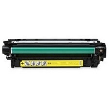 HP CE252A Compatible Yellow Toner Cartridge Yellow
