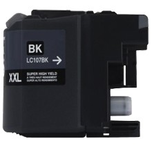 Brother LC107BK Compatible Black Ink Cartridge