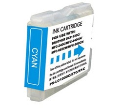 Brother Compatible Ink Cart LC51C Cyan