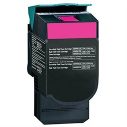 Lexmark C544M Compatible Hi Yield Magenta Laser Toner Cartridge