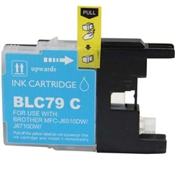 Brother Compatible Ink Cart LC79C Cyan