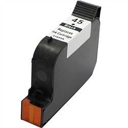 HP Remanufactured Ink Cart 51645A/D (No. 45) Black
