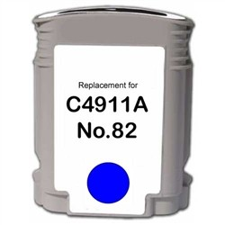 HP Compatible C4911AN (#82) Cyan Ink Cartridge