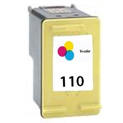 HP Remanufactured Ink Cart CB304AN (No.110) COLOR